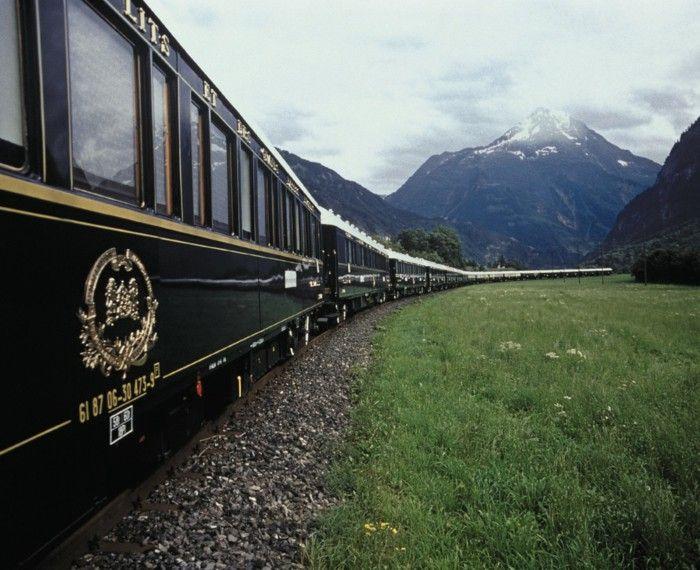 Rail travel el transcantabrico luxuriously