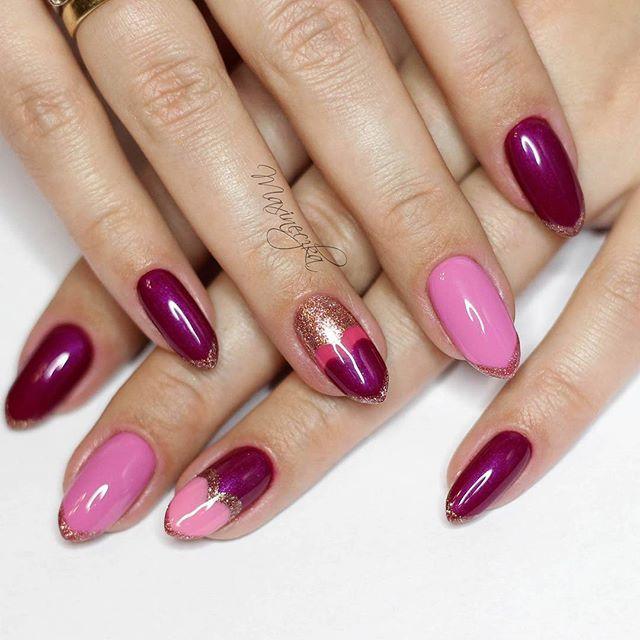Walentynkowa inspiracja od @maxineczka, można się zakochać! Chcecie wiedzieć jak wykonać taką stylizację oraz jakie kolorki zostały w niej wykorzystane? Sprawdźcie najnowszy filmik paznokciowy na kanale Maxineczki #semilac #manicure #mani #valentines #heart #love #maxineczka #semigirls #nails #nailart #nails2inspire #nailfie #red