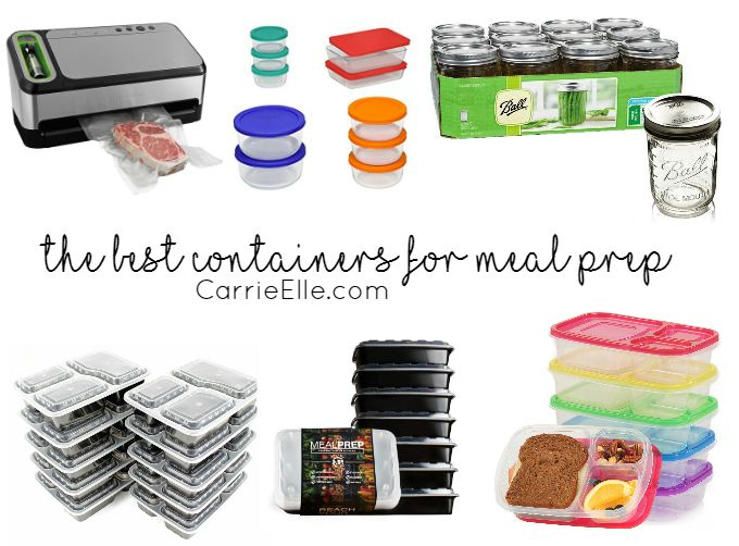If you've decided to start meal prepping (or, maybe you already do!), you'll want to make sure you have the best containers for meal prep available. Because, honestly? It takes some planning, time and energy to meal prep. With all of the work and pre-planning that you put into those nutritious and easy meals, you'll want to make sure you store them in containers that are convenient and best for organization and on-the-go dining. Nothing is as frustrating (or messy!) as discovering your…