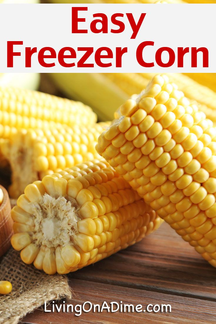 Here is an easy freezer corn recipe, which you can use to make an easy side dish that just needs to be heated and served! Find a good deal on fresh corn? This recipe is perfect for saving it!