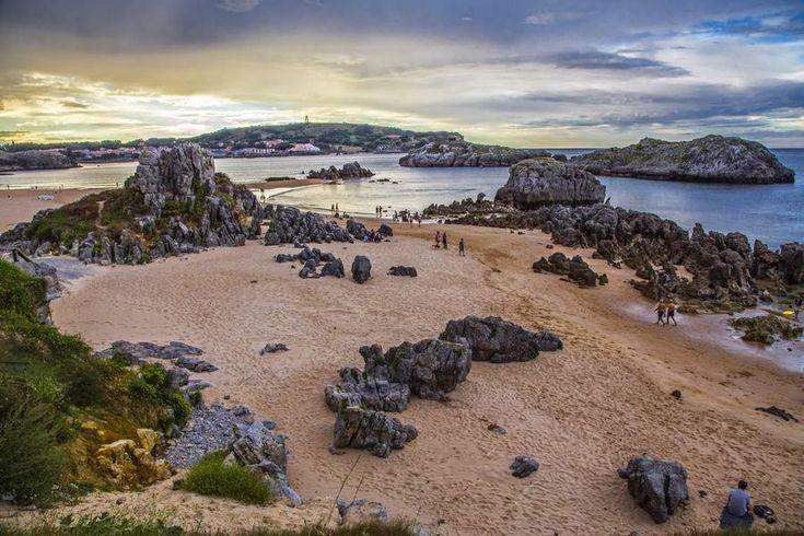 Playa de Ris, en Noja, Cantabria.