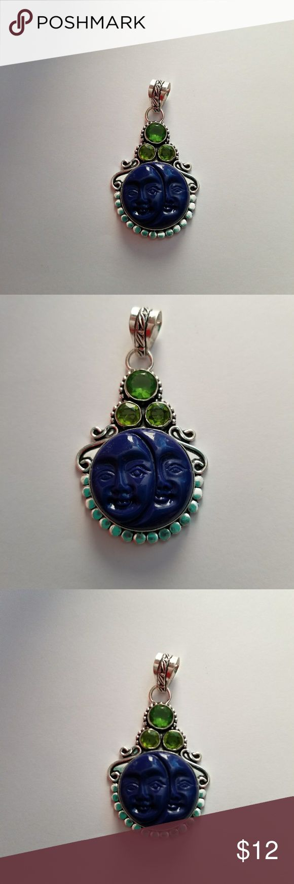 Pandent 925 Sterling silver stamp bali Jewelry Necklaces