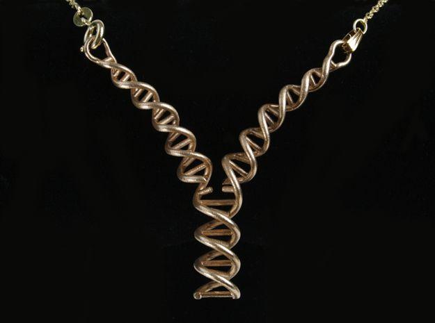 Replicating DNA Necklace by KenCalvert