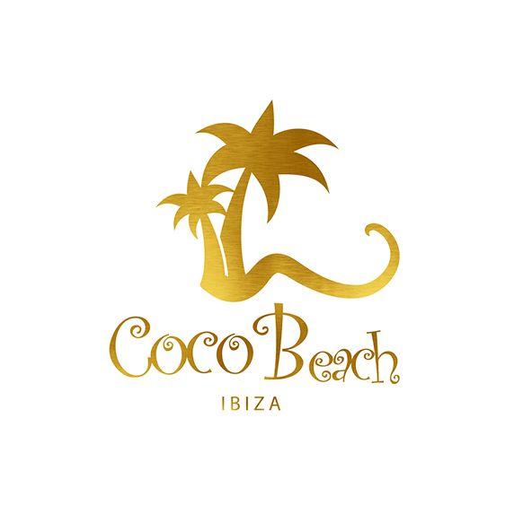 Coco Beach Ibiza White Logo