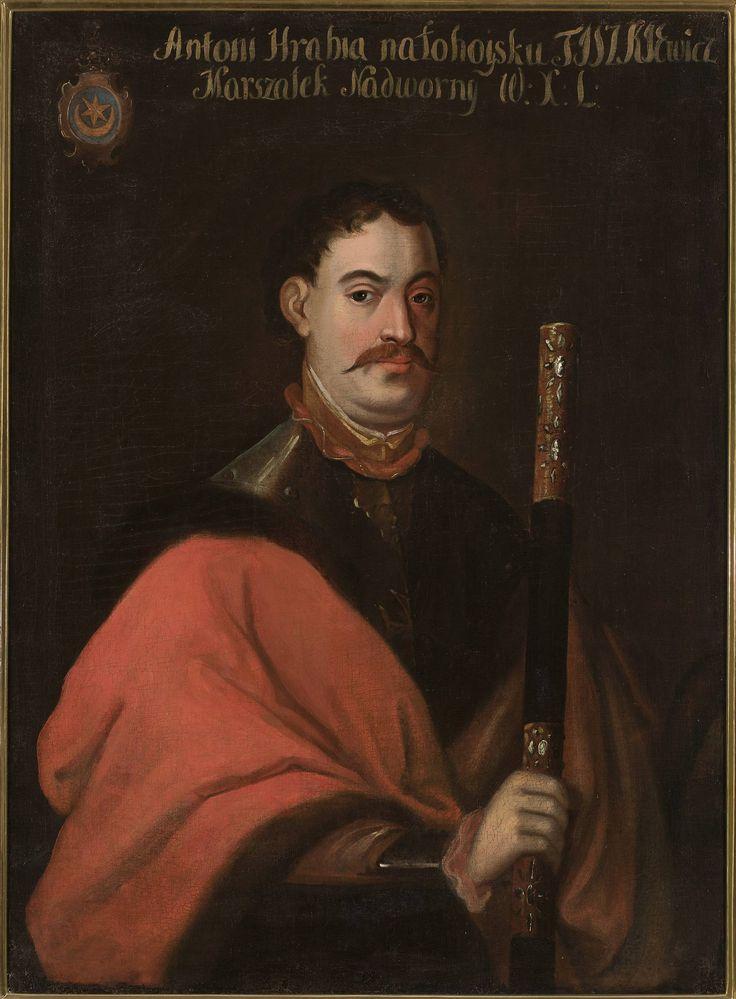 Portret Antoniego Jana Tyszkiewicza h. Leliwa (1609-1649), marszałka nadwornego Wielkiego Księstwa Litewskiego