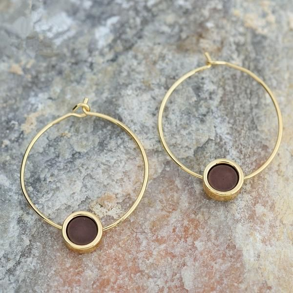 Vagabond Summer Earrings - Golden Spiral | Date Outfiit Accesories | Classy | Bangle | Minimalist jewelry | Boho chic | Gypsy | Indie Style