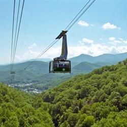 Ober Gatlinburg Aerial Tramway in Gatlinburg, Tennessee - 2005, 2010, 2015