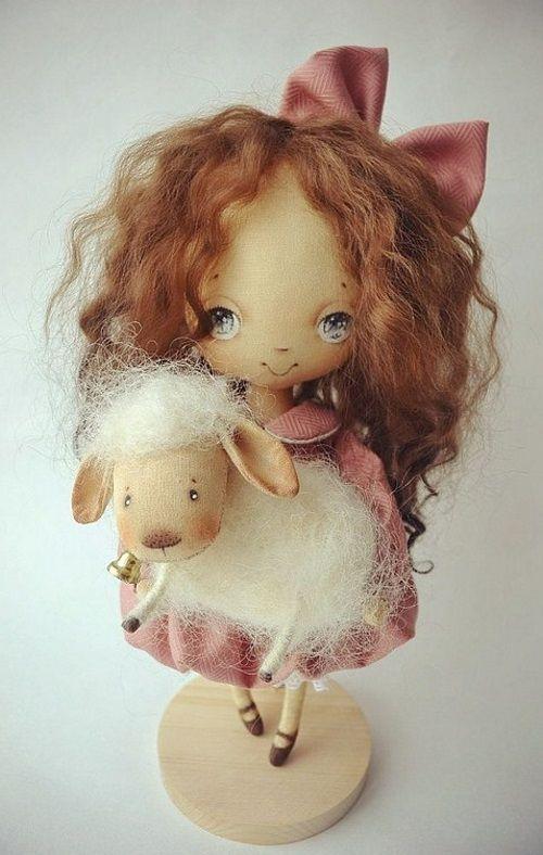 Кукла Ольги Нероденко