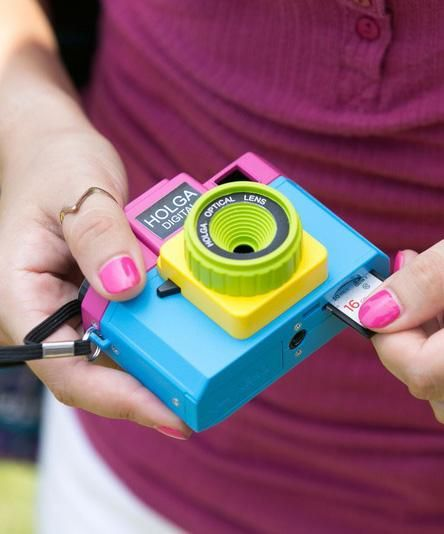The Holga Digital is a toy camera that takes lovable artsy-fartsy digital photos