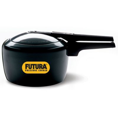 Futura Hard Anodized Pressure Cooker Size: 3.17 Quart