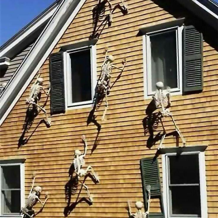 Werbung Leuchtender Menschliches Skelett Hangender Schadel Halloween Deko Fesche Hallowee Halloween Zuhause Halloween Deko Ideen Diy Halloween Dekoration
