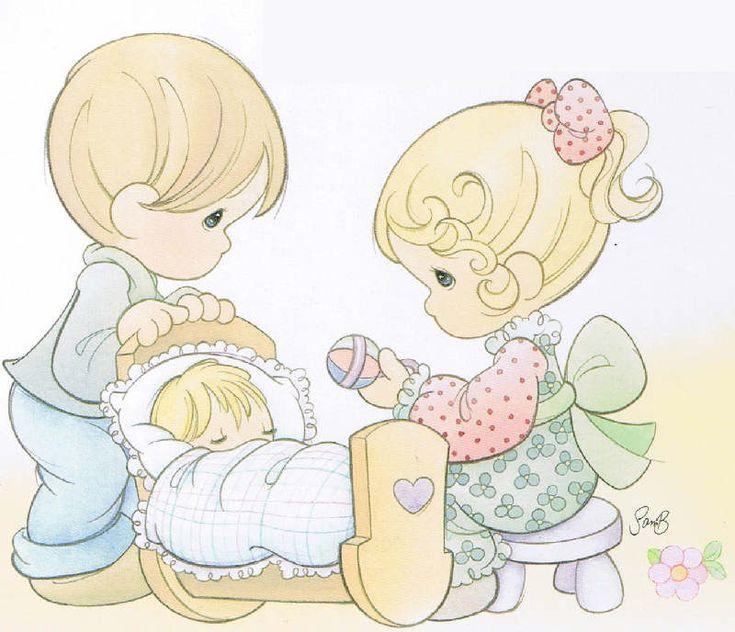 Precious Moments Baby Boy Clip Art | PRECIOUS MOMENTS De La Vida Para  Manualidades, SOUVENIRS