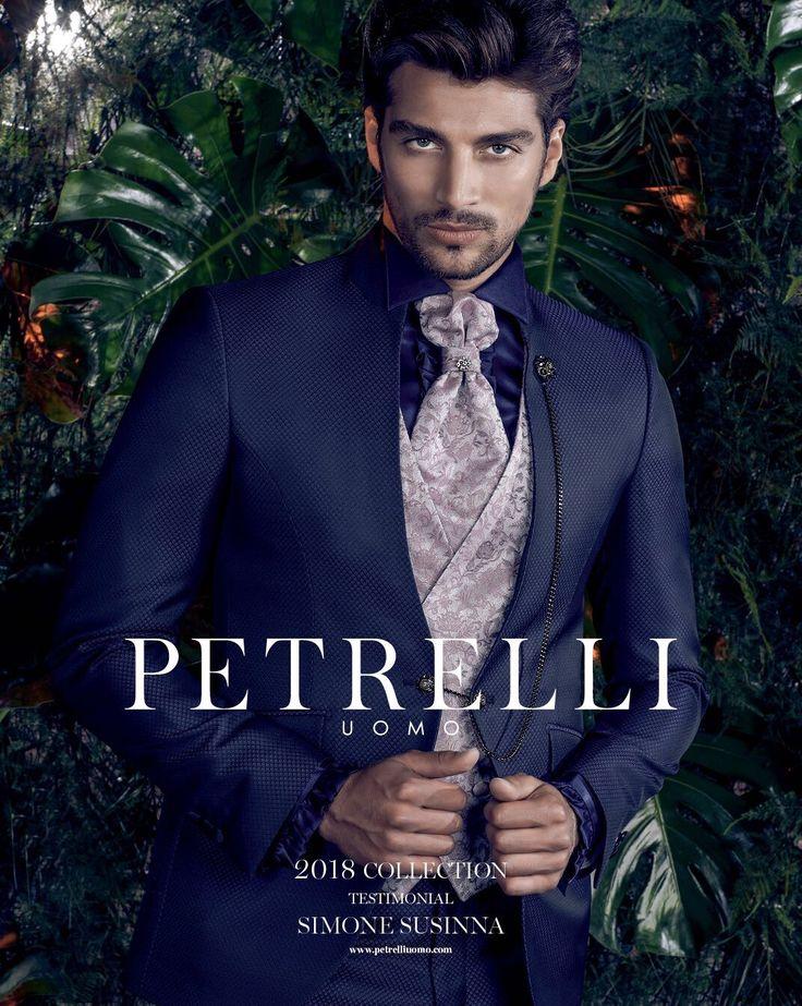 Ph Alex Belli abito Petrelli Uomo Alta Cerimonia 2018 Testimonial Simone Susinna #isoladeifamosi #man #suits #ceremony #bodas #groom