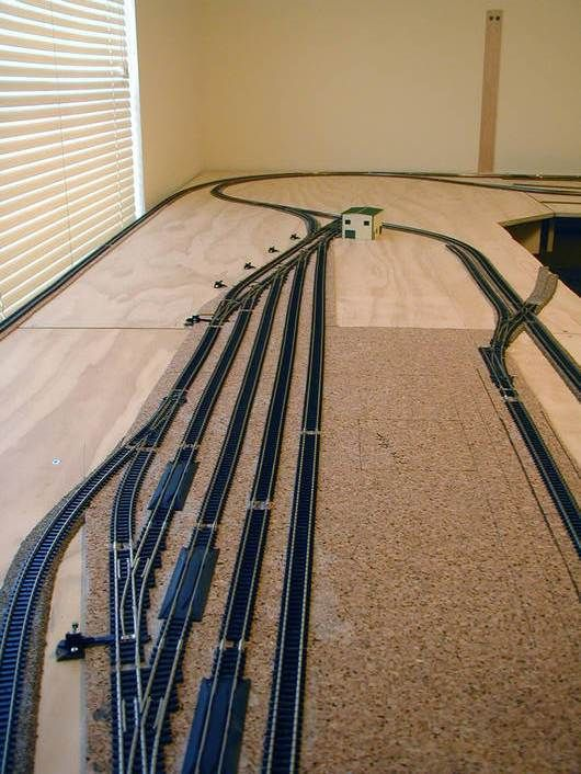 ho scale model train layouts