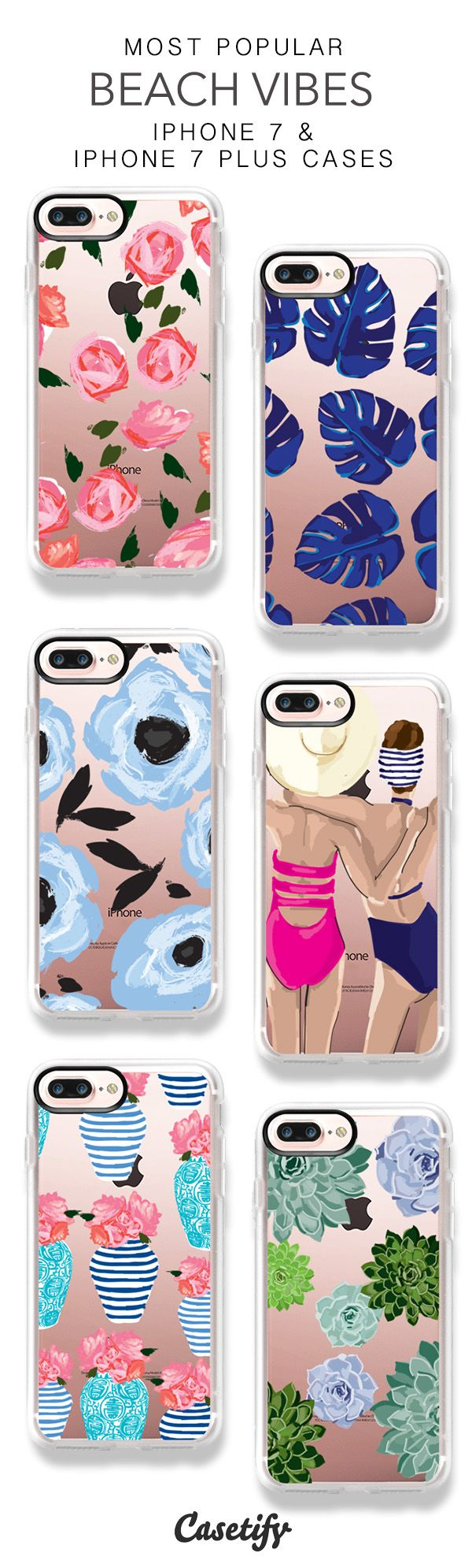 Most Popular Beach Vibes iPhone 7 Cases & iPhone 7 Plus Cases here > https://www.casetify.com/carolinefrierson/collection