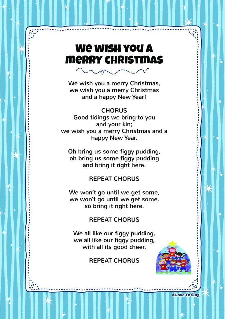 Weihnachtslieder Lyrics