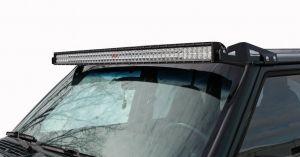 "Jeep Cherokee Light Bar | Low Profile 50"" LED Mount | Jeep XJ (84-01)"