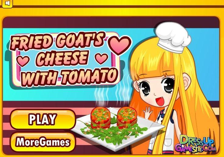 Lubisz się zdrowo odżywiać? Jeżeli tak to pomóż dziewczynie i razem z nią przygotuj pyszne danie serowo-pomidorowe! http://www.ubieranki.eu/gry/3658/serowe-krazki-z-pomidorem.html
