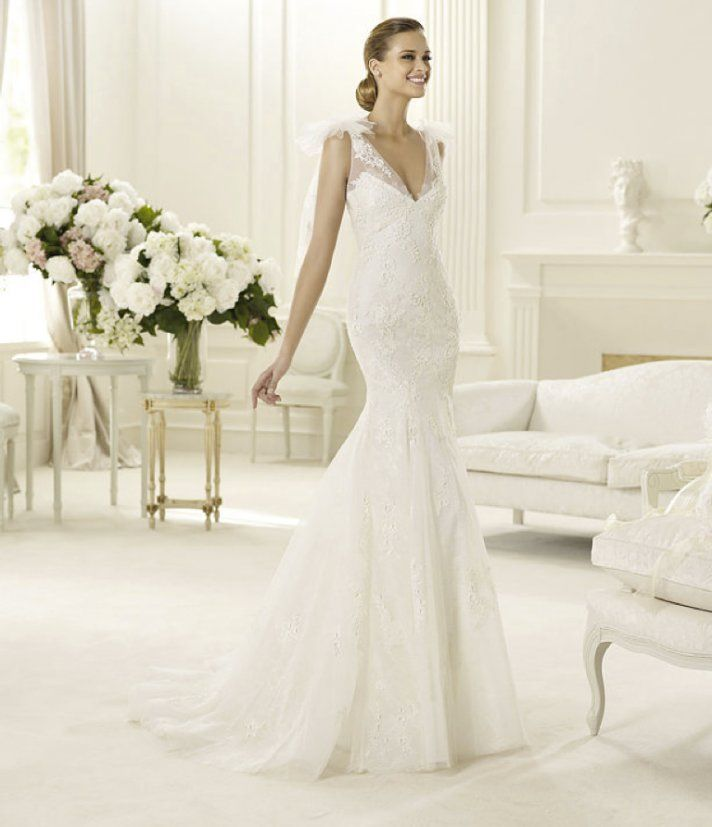 wedding dresses | spring 2013 wedding dress manuel mota for pronovias bridal gowns 2
