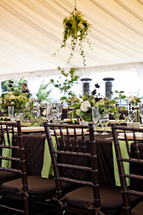 Brown And Mint Wedding Colors Table Setting Ideas For Green Brownwedding