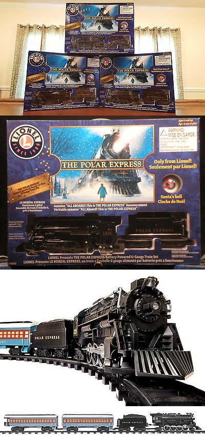 Other G Scale 4149: Lionel Polar Express Train Set G Gauge Ready To Run Christmas Tree 7-11022 -> BUY IT NOW ONLY: $110 on eBay!