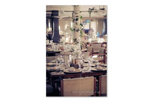 Simplistic and oh so chic! Less is more. Your decor does not need to match YOUR bridesmaids!!! Pleaseeee!!!