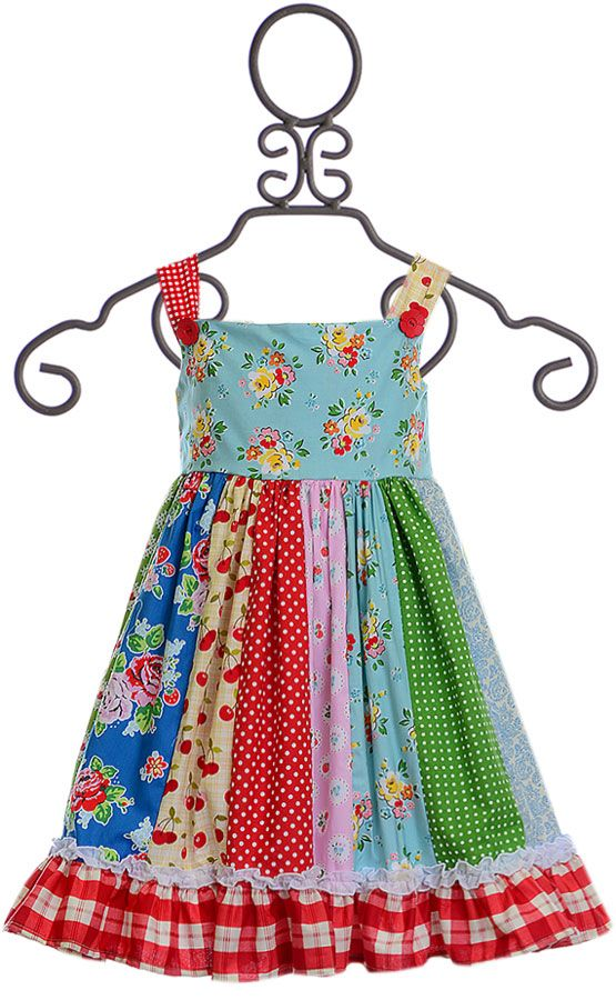 Persnickety a Bushel and a Peck Adele Dress (12-18Mos,18-24Mos,5,7)