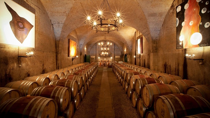 Haute Cabriere cellar, Franschhoek, South Africa