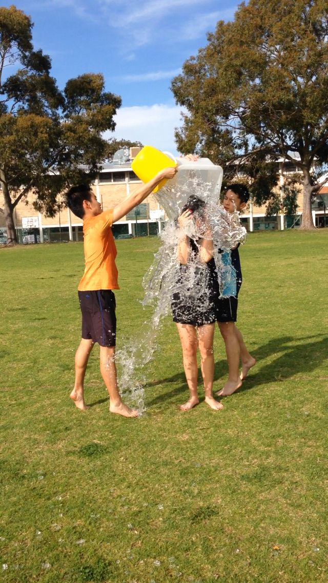 ALS ice bucket challenge ft my fave boys 25/8/14