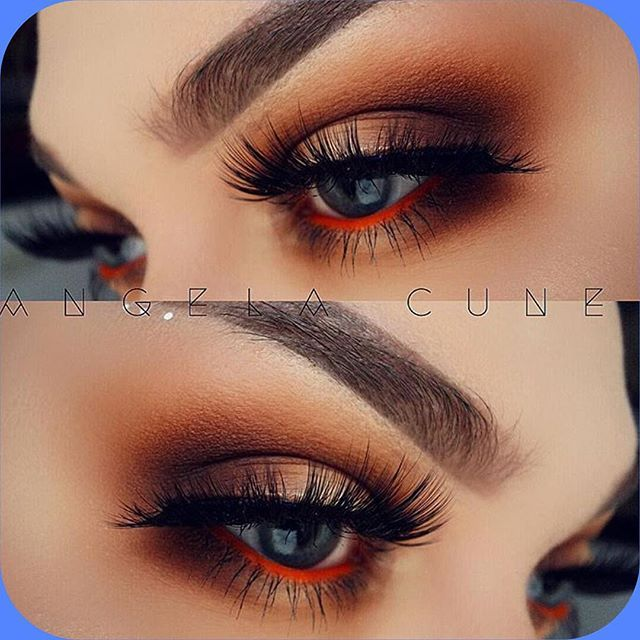 Absolutely perfect! @angela_cuneo created this look with the Rust stack ❤️ We can wait for tomorrow! Rust restock starts at 12pm PST - Free shipping for domestics orders over $50.  #meltcosmetics #meltrust