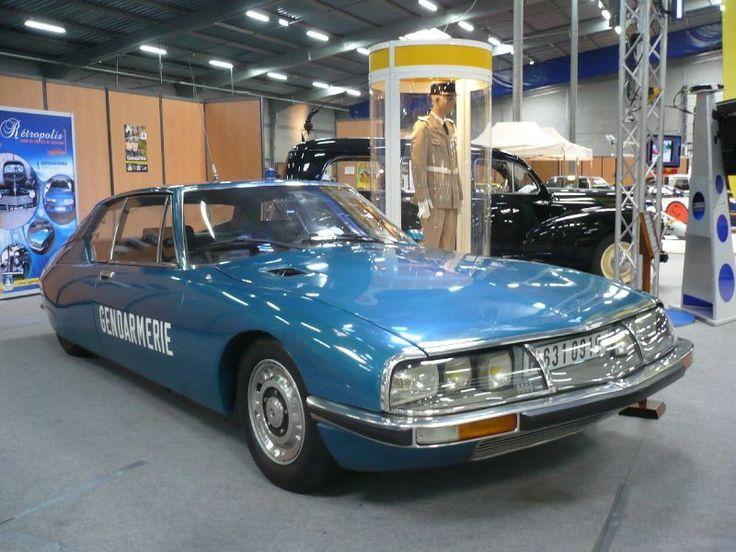 CITROËN SM gendarmerie 1973 Besançon (1)