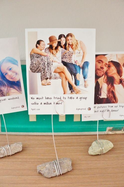 Cheap and Easy DIY Instagram Photo Holder Plus How to Print Instagram Photos