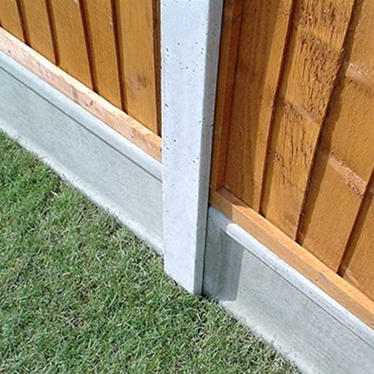 Our Concrete fence posts offer superior resilience against severe weather conditions than standard wooden fence posts. Brilliant reduced price of £17.49!