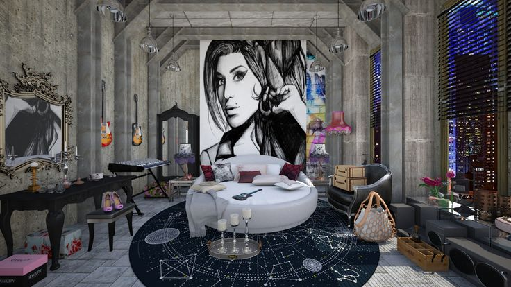 Tribute to amy by ida dzanovic roomstyler highlights for Roomstyler com