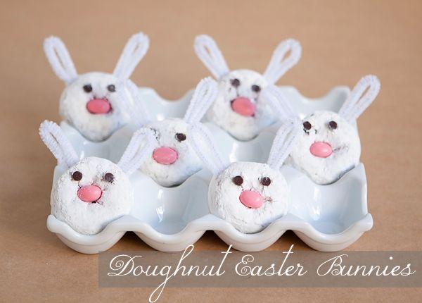 DIY: doughnut easter bunnies | Armelle Blog