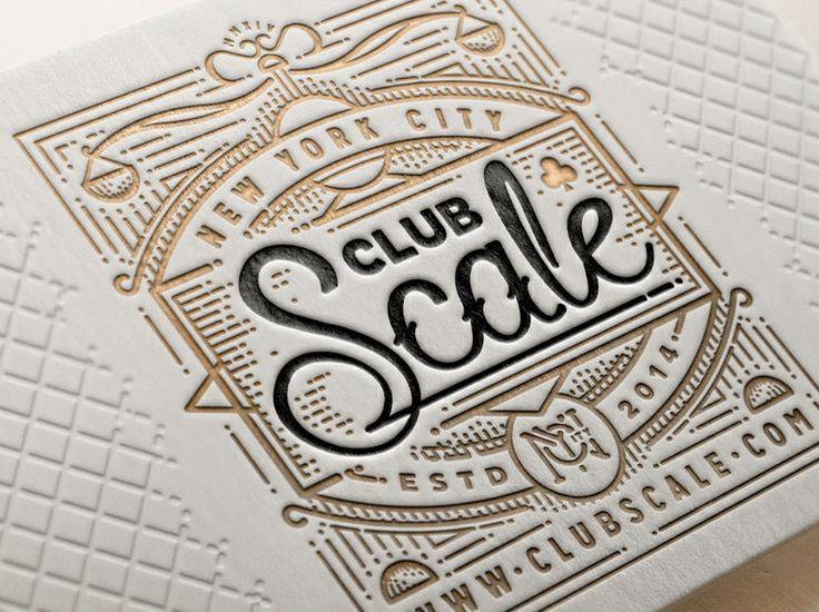 Stunning Letterpress Works by Ye Olde Studio