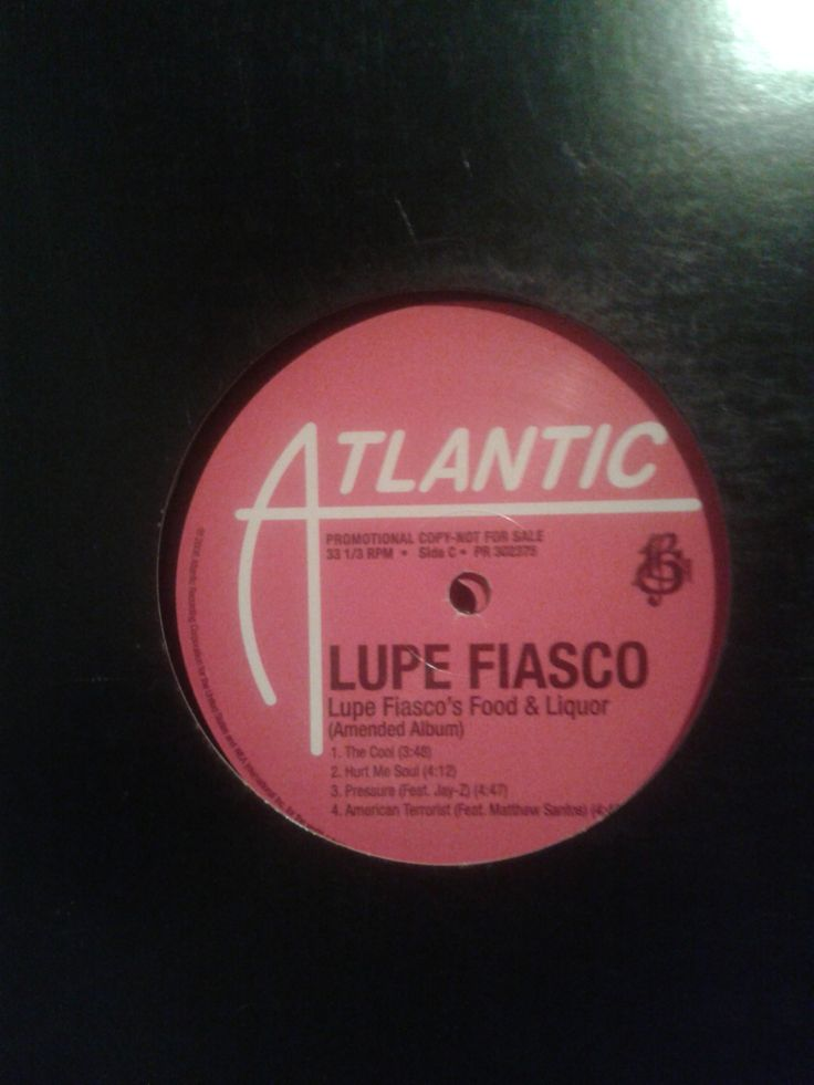 #LupeFiasco ‎– Lupe Fiasco's Food & Liquor