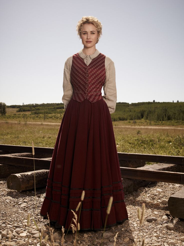 Dominique McElligott in HELL ON WHEELS - Season 1 | ©2011 AMC/Frank Ockenfels