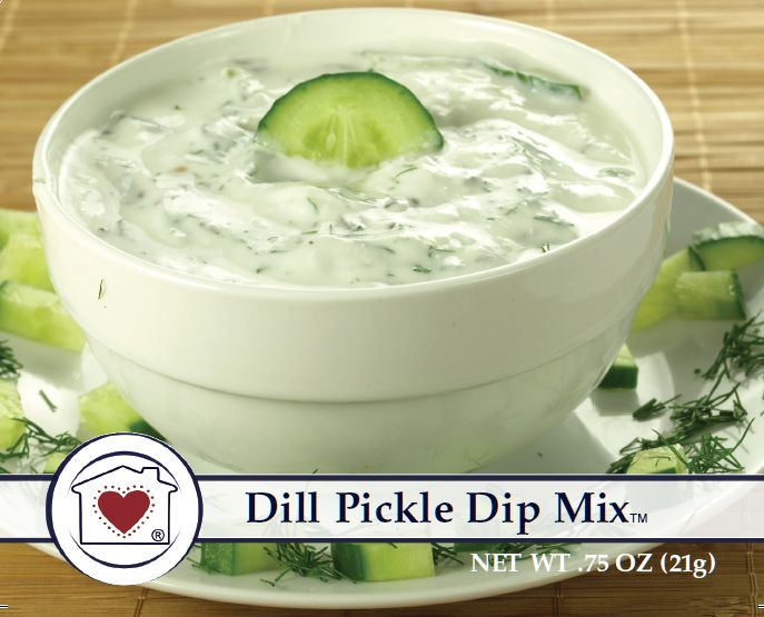 We're a little crazy for dill pickles. If you are too, then you're in luck. This recent addition to our line of simple gourmet mixes is full of pickle flavor and wholesome pickle pieces. It's amazing
