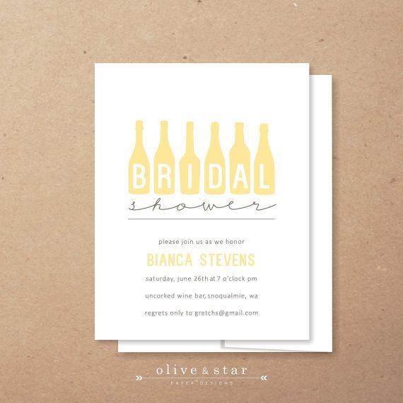 wine tasting // bridal shower invitation set // birthday invitation // wine bottle // vino // wine tasting party