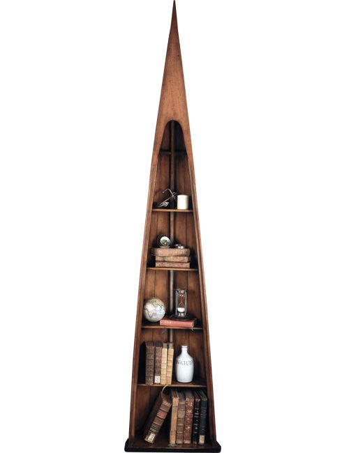 man of eight boat bookcase