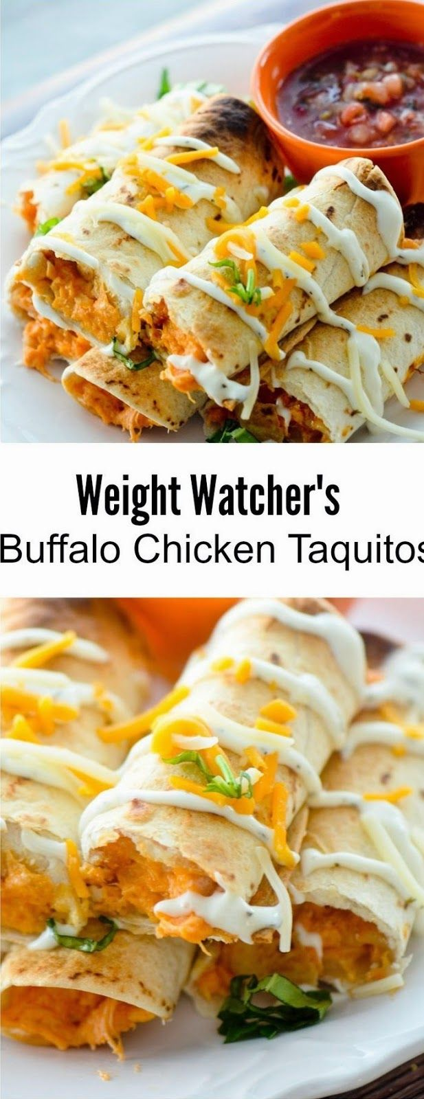 Baked Bufffalo Chicken Taquitos | Food'n Drink Recipes
