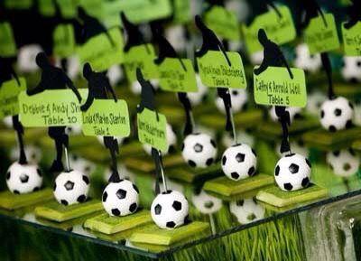 Tema Matrimonio: il calcio | sposafelice