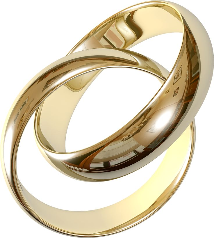 Transparent Wedding Rings Clipart