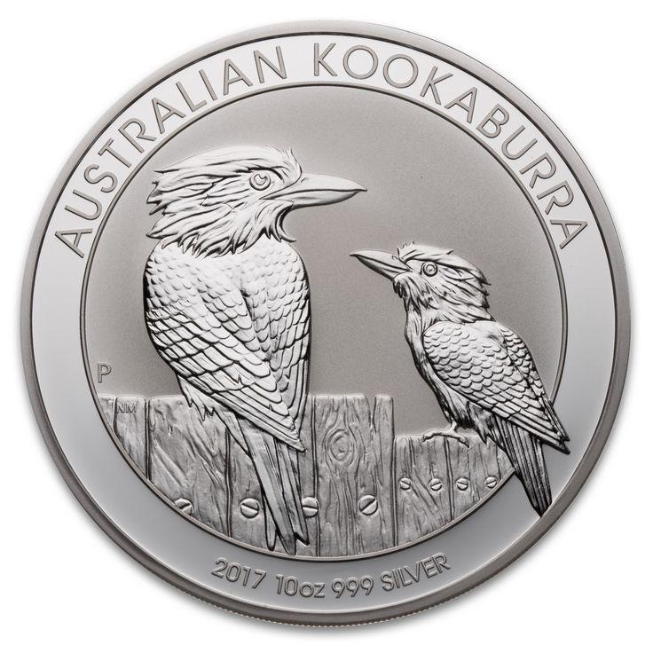 2017 Australian Silver Kookaburra 10 oz