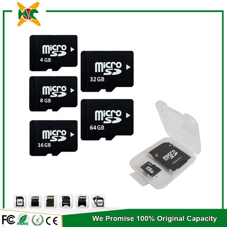 High speed flash memory card 64 gb C10 microsd card
