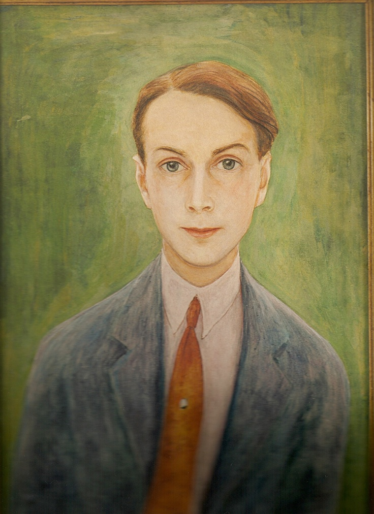 Nils Dardel Self Portrait