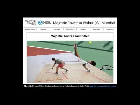 Majestic Towers Amenities - Luxurious Apartments for Sale in Nahur Mumbai