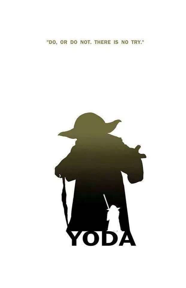 Citaten Yoda : Star wars famous quotes silhouette pinterest