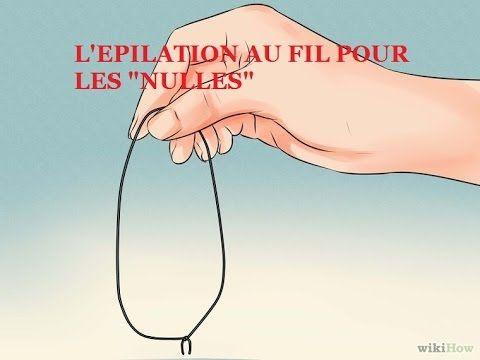 """L'épilation au fil pour les """"nulles"""" mes sourcils - YouTube"""